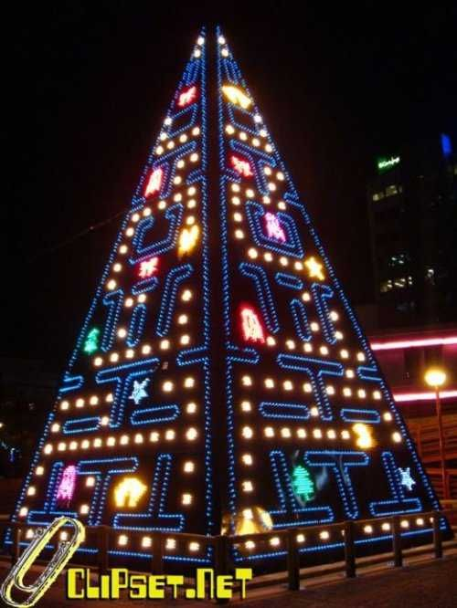 an awesome collection of creative geeky and bizarre christmas trees this is my favorite - Unique Christmas Tree Lights