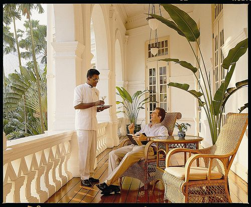 Raffles Hotel Singapore, Grand Private Verandah