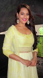 Sonakshi Sinha Shoots for Star Plus Diwali Episodes.