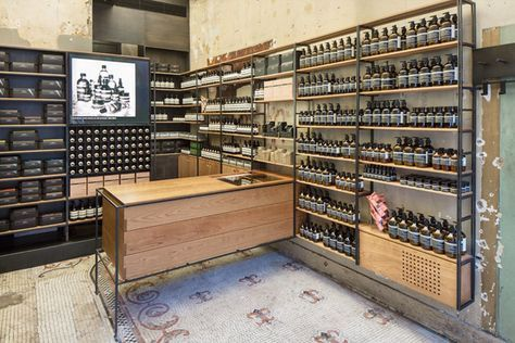 Aesop store by Architecture Outfit, New York »  Retail Design Blog