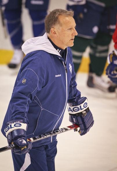 Ron Wilson Former Toronto Maple Leafs Coach