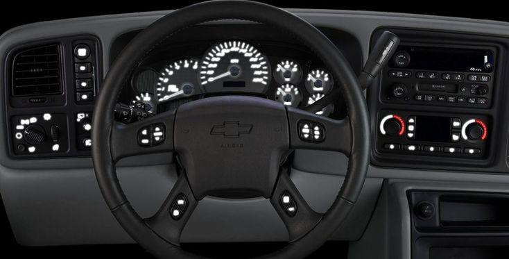 2003 04 05 06 Silverado Escalade Dash Bulb to LED Conversion Pkg w/White LED's | eBay Motors, Parts & Accessories, Car & Truck Parts | eBay!