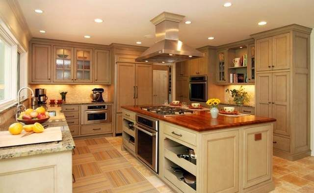 Cooktop island ideas ask the expert no kitchen is an for Kitchen ideas no island
