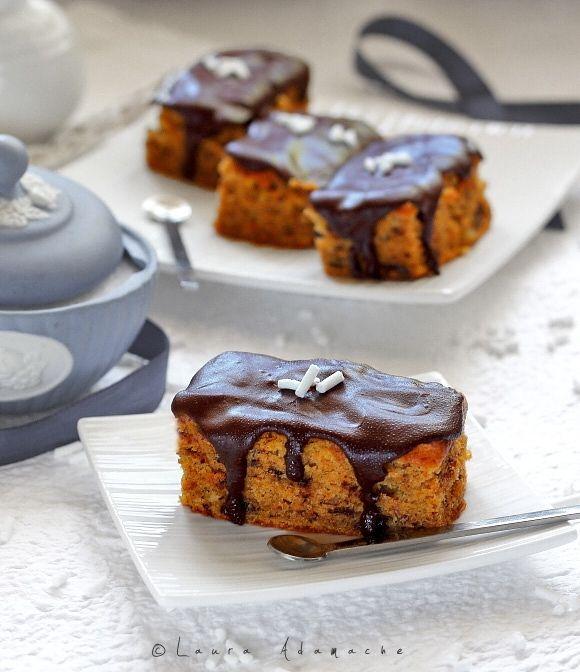 Prajitura cu dovleac si ciocolata (prajitura dovleac ciocolata)