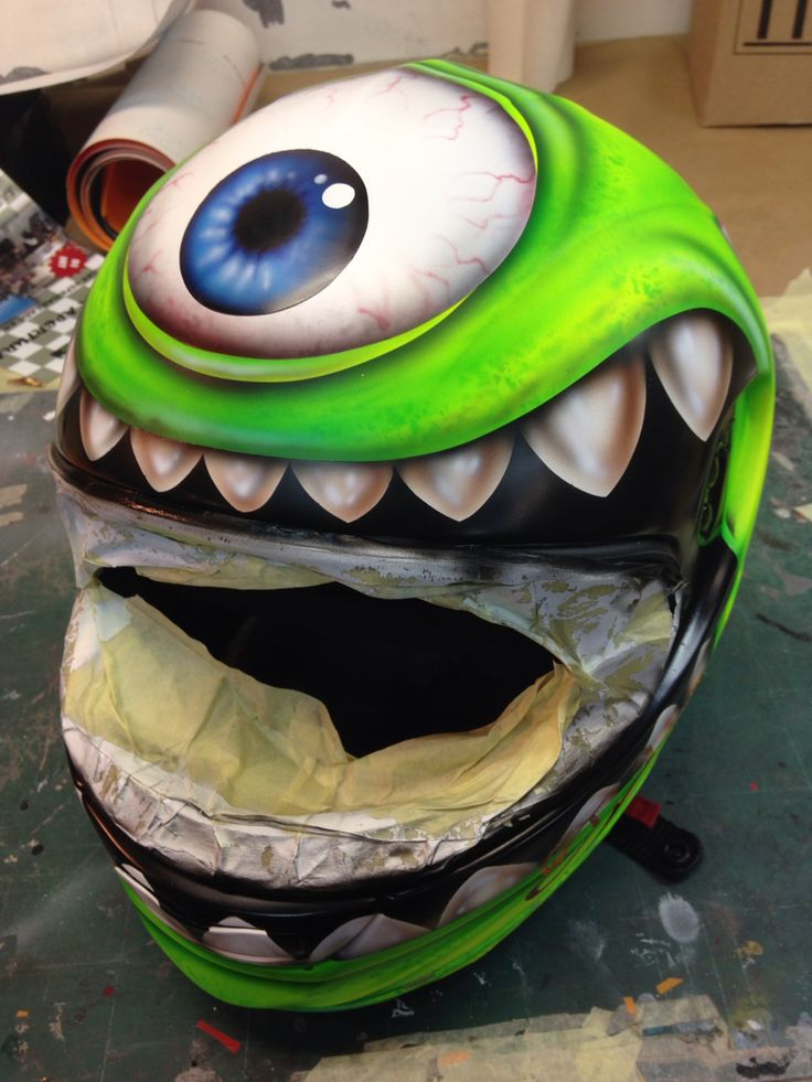 2254 Best Airbrushed Motorcycle Helmets Images On