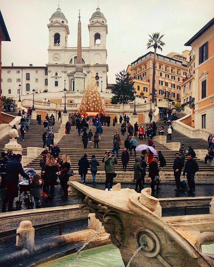 Piazza di Spagne, Rome, Italy