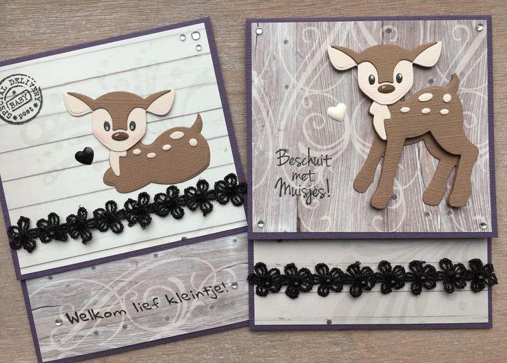 LindaCrea: Eline's Beestenboel #24 - Envelopkaarten