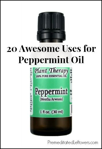 20 Awesome Uses for peppermint oil