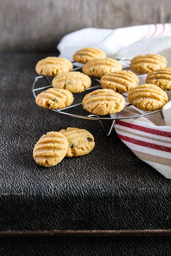 Biscuits au beurre d'amande - Châtelaine