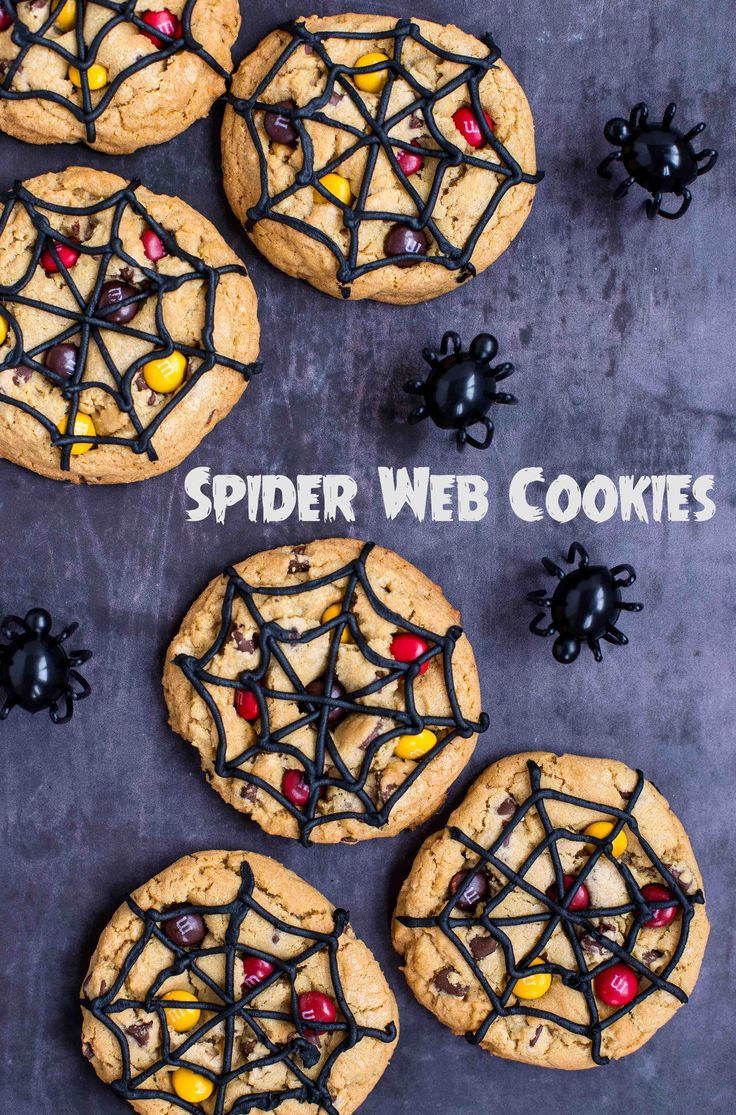 Spider Web Cookies | Deliciously Declassified