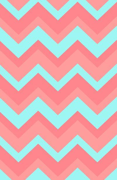 light pink blue chevron iphone wallpaper fb