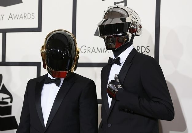 In Case You Were Wondering, This Is What The Guys From Daft Punk Look Like Without Their Helmets - drum roll please...