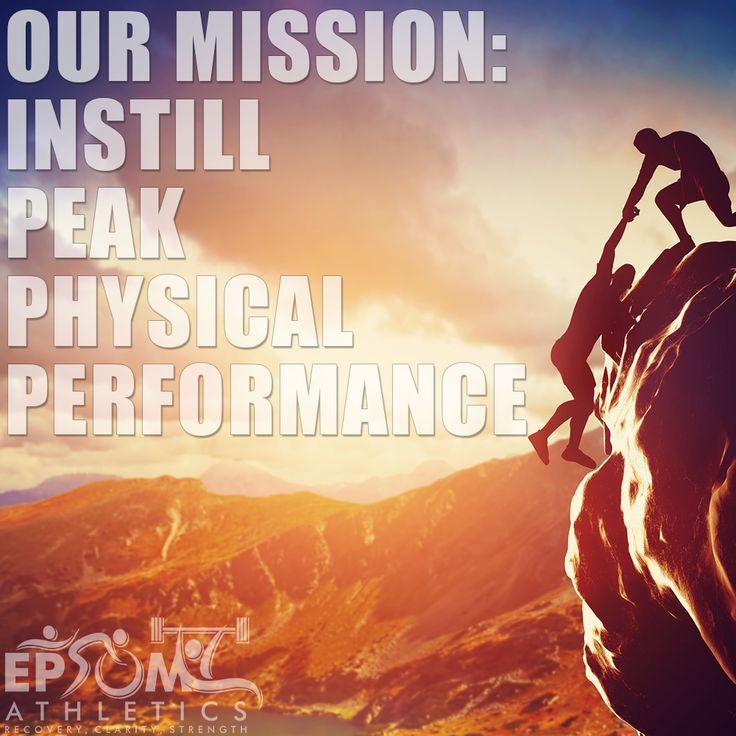 We've created our line of #athletic #healing & #recovery products with one mission in mind↪ Instill peak physical performance #fitness #epsom #athletics