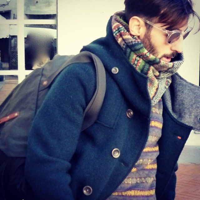 ERIBÉ AW13 Pioneer Snood in Amazon as instagramed by @Civiconove (Civiconove)
