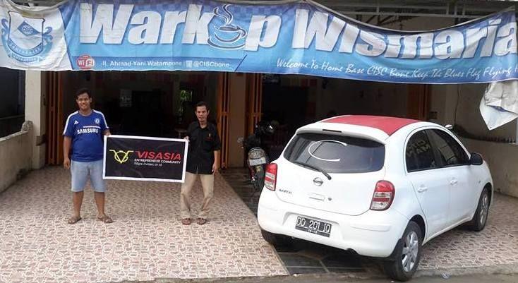 Warkop Wismaria Jl. Ahmad Yani ( Samping Kantor Layanan BNI ) Kab. Bone, Sul Sel Contact : 085255550777 ( Ardillah Yudis )