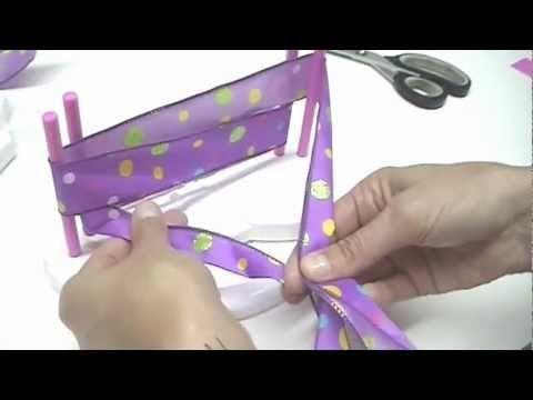 Fitas Progresso - Laço Duplo - Clube de Artesanato - YouTube
