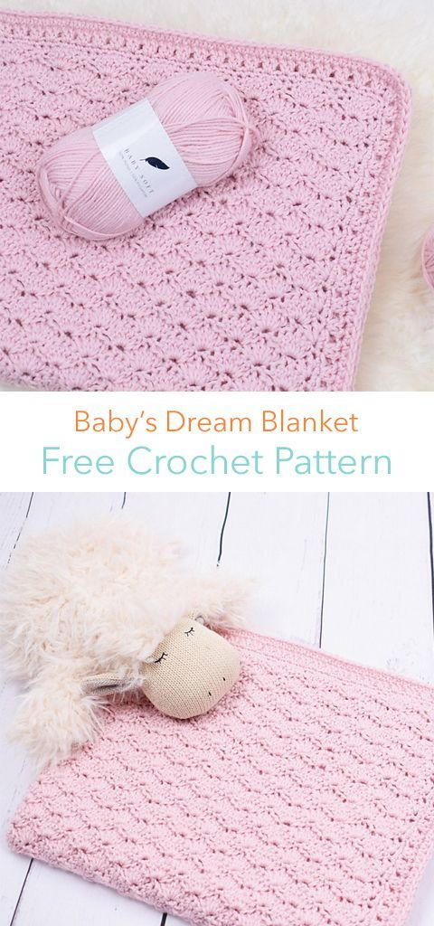 Babys Dream Blanket Free Crochet Pattern Mostly Crochet