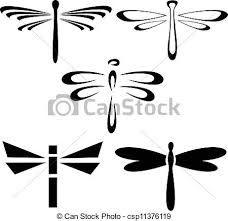 Risultati immagini per disegni di libellule