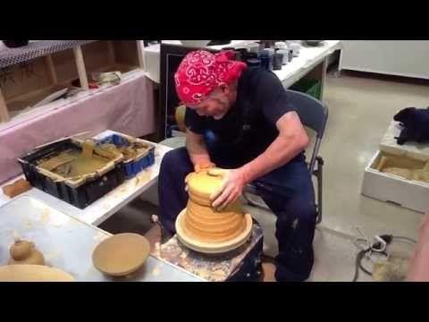 Amazing Japan:Japanese Pottery Master Kumagae Yasuo - YouTube
