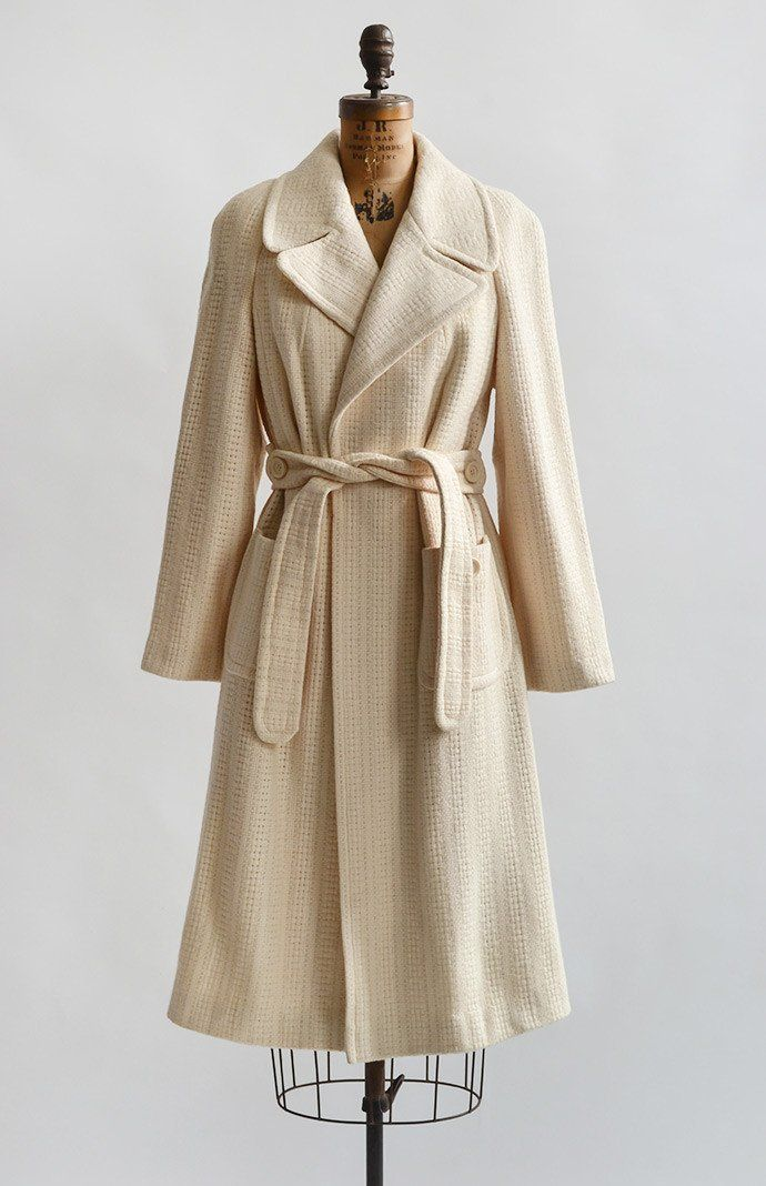Coffee Date Coat / vintage coat from Adored Vintage