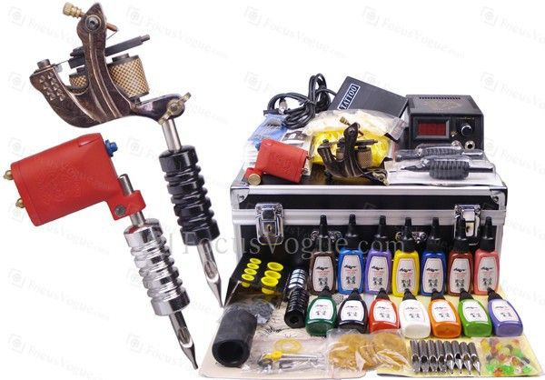 US $290.00 | Professional Tattoo Machines Kit for Lining and Shading (1 Rotary Tattoo Machine)