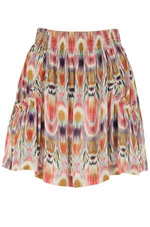 ikat mini skirts- hey I have this too! Its from Wet Seal ;) -Christine Elizabeth