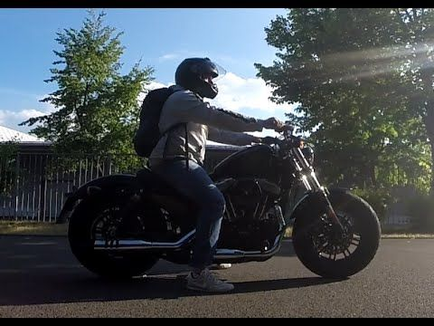 Harley Davidson forty eight Modell 2016 sound