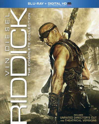 Riddick: The Complete Collection (Blu-ray + Digital HD UltraViolet) - http://bluraydvdmovie.com/