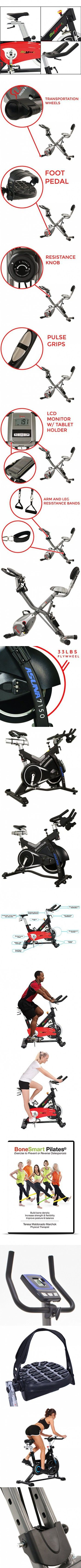 Professional Indoor Cycling Bike for Achieving Your Fitness Goals - Gym-Grade Cycle Bikes with Adjustable Seat and Heavy Duty Crank & Smooth Chain Drive Mechanism