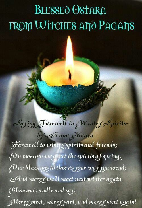 Happy Ostara my pagan friends!!