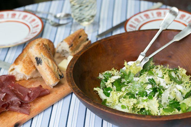 John Woodrow Kelley's Salted Herb Salad | SALAD for President