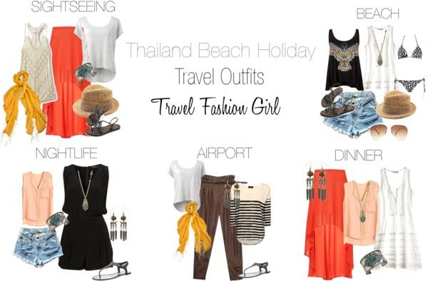 Check out this holiday packing list If you're heading to South East Asia. Travel Fashion Girl shows you how to pack for a 2 week beach holiday in Thailand.