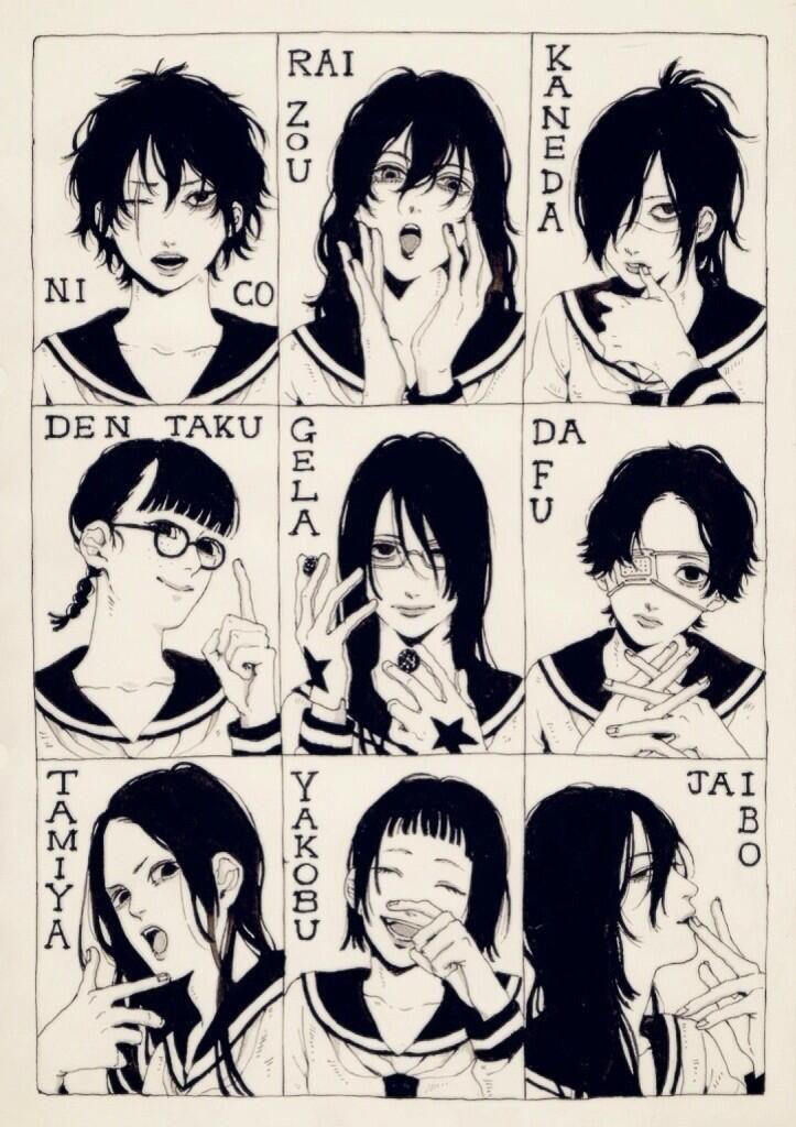 llkiri-kao: ワヤマ