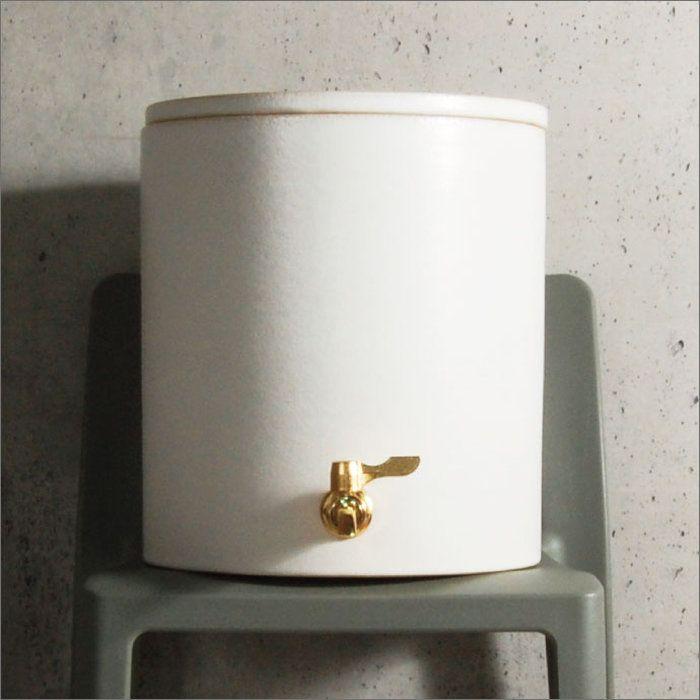 日本製THESERVER6.5L信楽焼き陶製サーバーfor焼酎&ウォーターウォーターサーバー焼酎サーバーウォーターディスペンサーおしゃれインテリア雑貨北欧保存容器水キッチンキッチン雑貨陶器大容量キッチン用品サングリアシカラキ本体贈り物ギフト