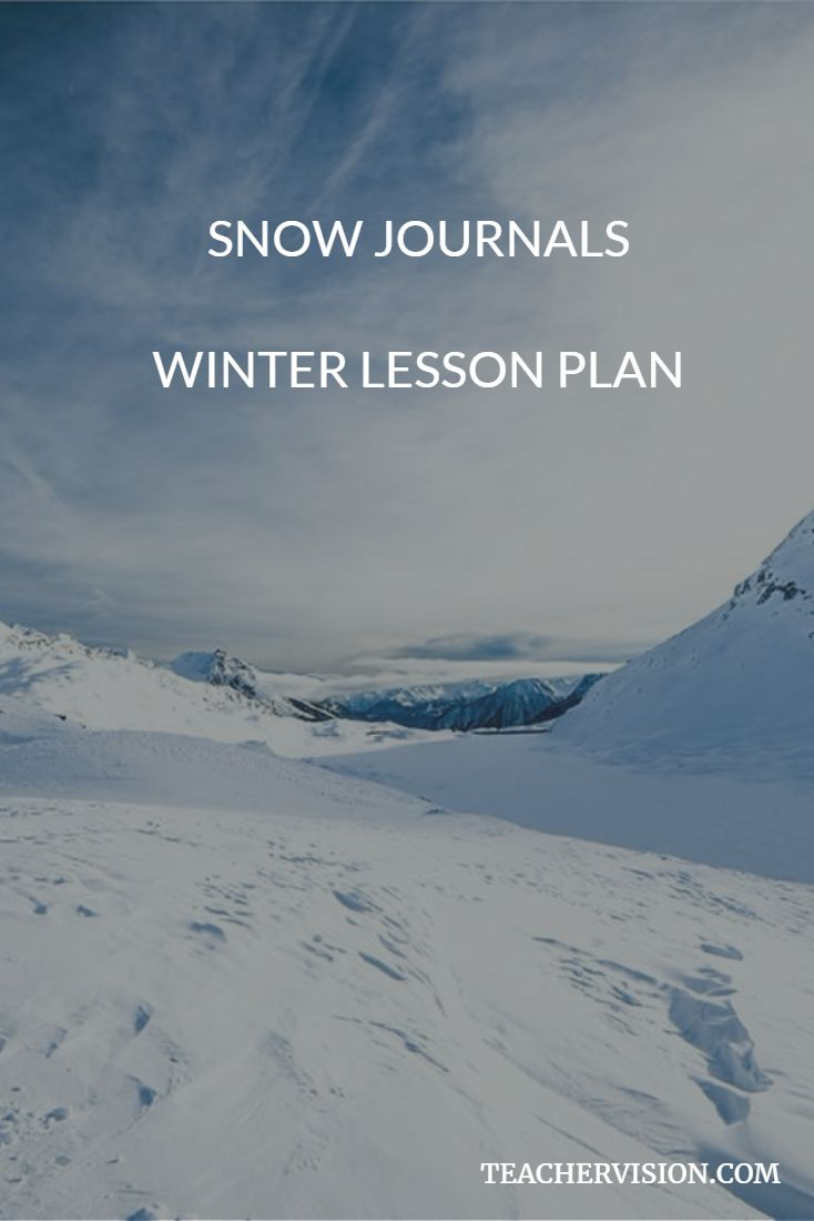 Students observe and learn about snow in this winter lesson plan.  #scichat #winter #lessons