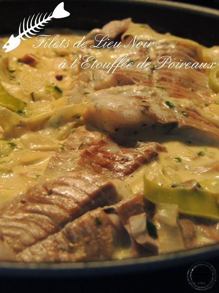 Filets de Lieu Noir à l' Etouffée de Poireaux - Petit Bec Gourmand Food Photography © Audrey Jubault