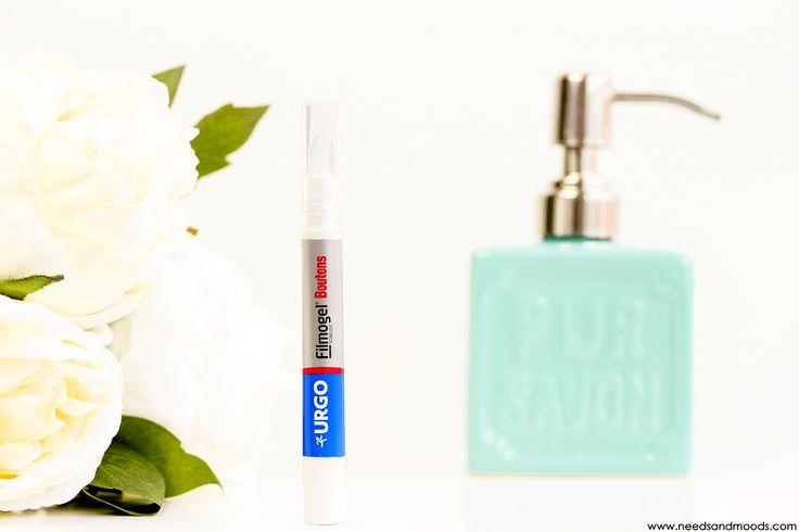 Sur mon blog beauté, Needs and Moods, je vous propose une revue sur le filmogel Boutons de la marque Urgo, un stylo applicateur contenant un soin ciblé pour accélérer la disparition des boutons.  http://www.needsandmoods.com/urgo-filmogel-boutons/  #urgo #filmogel #bouton #boutons #revue #blog #beauté #beauty #blog #blogger #blogueuse