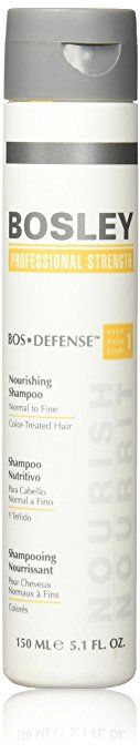 Bosley Defense Nourishing Regrowth Shampoo Step 1 Normal to Fine Color Treated Hair 5.1 Oz Review