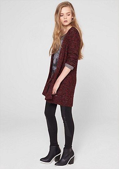 Meerkleurig vest met lurex in het s.Oliver Online Shop