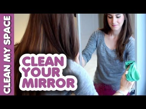 Mirror Cleaning Secret! How to Clean a Mirror Tutorial.