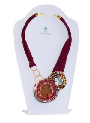 Collar Hamsa #Accesorios #ClubJ #Shopping #Boho #Chic