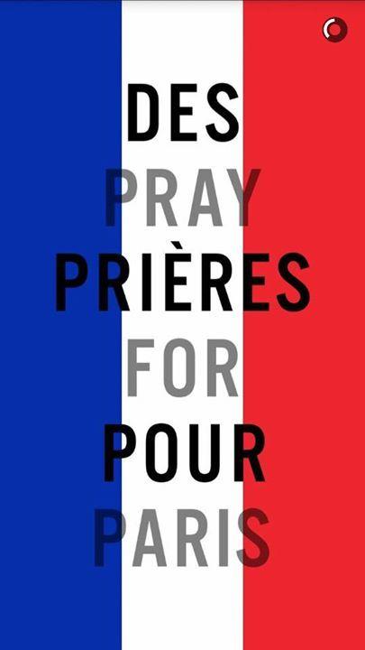 pray for paris france-terrorists attacks 2015