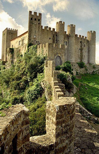 Castelo de Óbidos in Obidos, Portugal