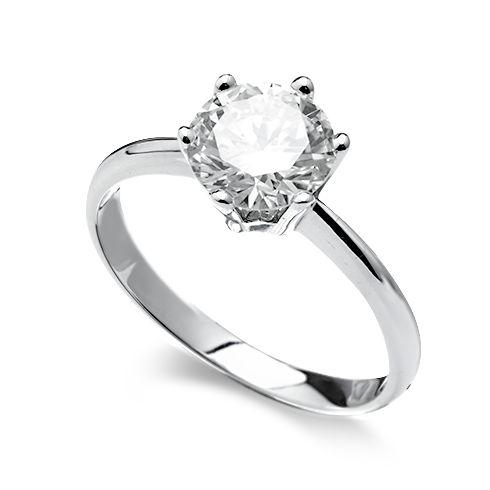 Inel de logodna cu diamant DR171-7W-051H259