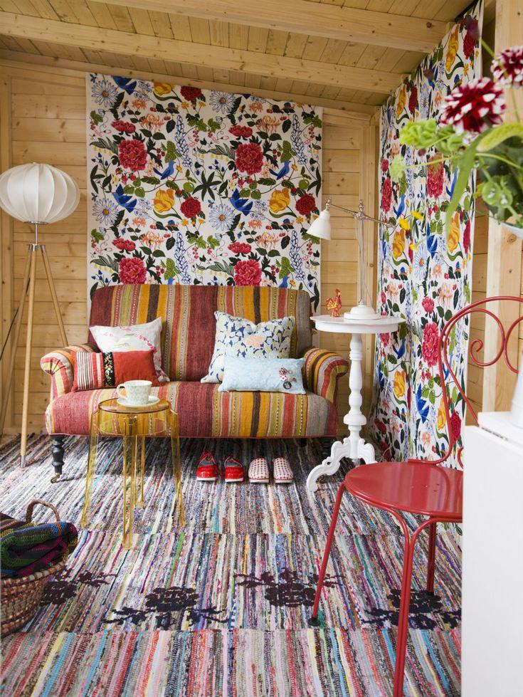 Best 20+ Wohnzimmer Bunt Ideas On Pinterest   Raumteiler Weiß ... Danish Design Wohnzimmer