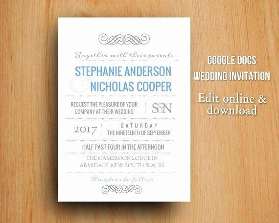 35 Party Invitation Template Google Docs In 2020 Party Invite