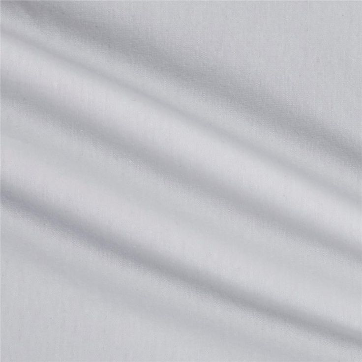 Cotton Lycra Spandex Jersey Knit White from @fabricdotcom  This lovely lightweight printed cotton/lycra jersey knit fabric features 40% four-way stretch for comfort and ease. Ideal for children's apparel, pajamas, lined or gathered skirts and dresses, and t-shirts.