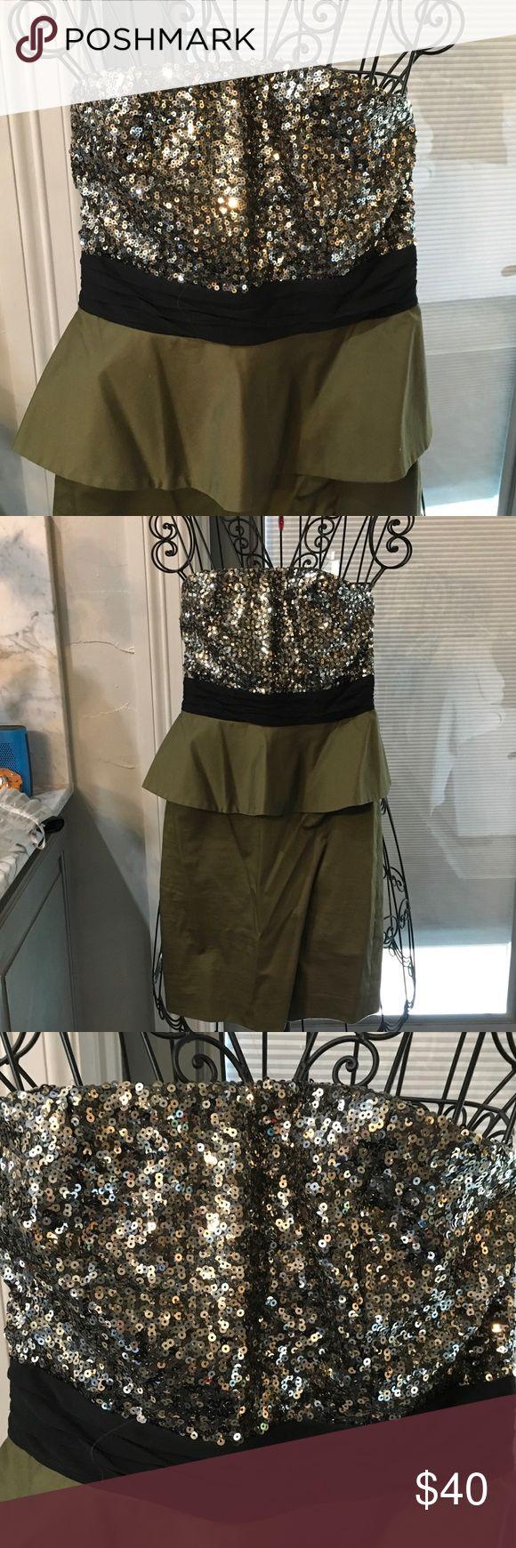Black, hunter green mini dress Dress mini Alice and Olivia Dresses Mini