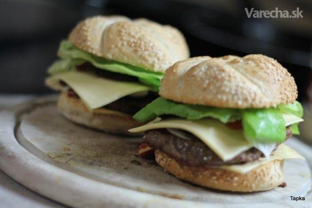 Šťavnatý hamburger (fotorecept)