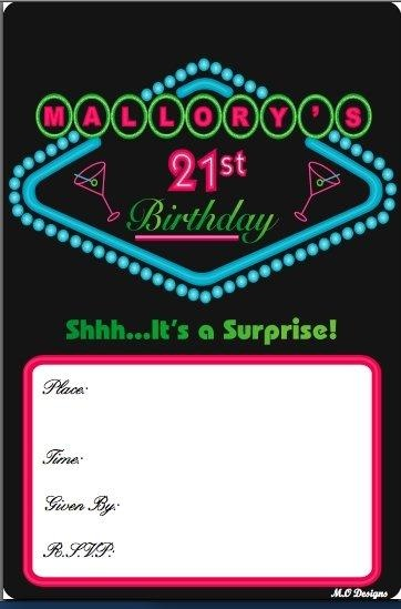21st Birthday Party Themes... never had a suprise party. i just like the colors